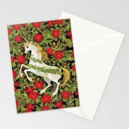 Christmas Unicorn Stationery Cards