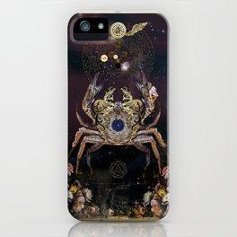 Zodiac : Cancer iPhone Case