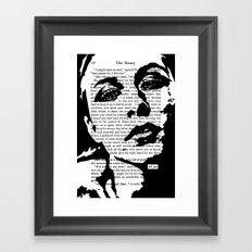 Tell Me Framed Art Print