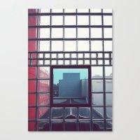 grid Canvas Prints featuring Grid by Ubik Designs