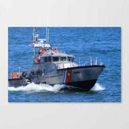 Coast Guard MLB Canvas Print