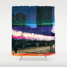 Project L0̷SS | Nathan Phillips Square, Toronto Shower Curtain