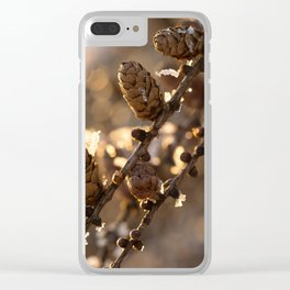 January light Clear iPhone Case