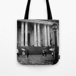 London Rainfall Tote Bag
