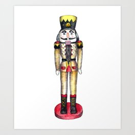 The Nutcracker Prince 2 Art Print