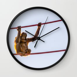 On the Wire Wall Clock