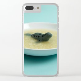 Sea lion soup Clear iPhone Case