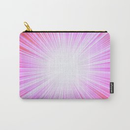 Pink Rays Carry-All Pouch
