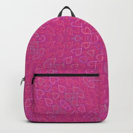 Flowery hearts Backpack