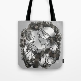 Live with Peace Tote Bag
