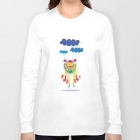 monster Long Sleeve T-shirts featuring Monster by Maria Jose Da Luz