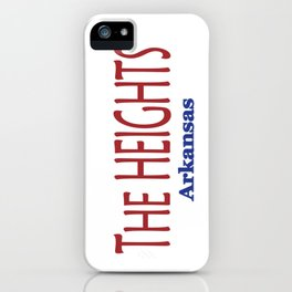The HEIGHTS iPhone Case