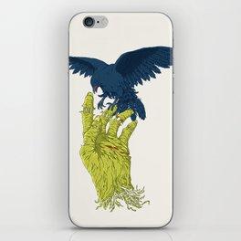Corvo-papa-zumbi iPhone Skin