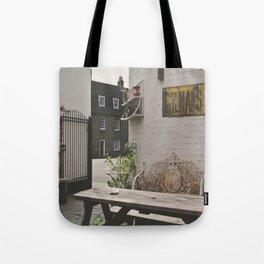 Cafe in Cambridge  Tote Bag