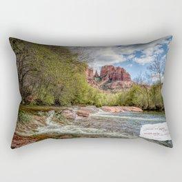 Cathedral Rock, AZ Rectangular Pillow