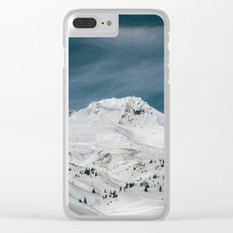 Mount Hood XIII Clear iPhone Case