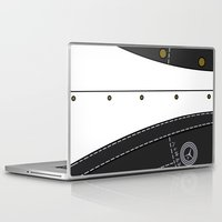 persona Laptop & iPad Skins featuring Persona 4 Protagonist Uniform by Bunny Frost