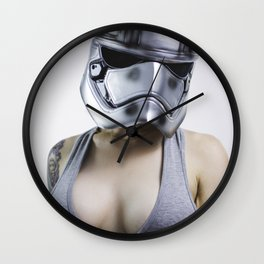 Phasma's Day Off V2 Wall Clock