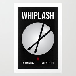 Whiplash Graphic Movie Poster Art Print