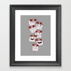 Woork Week Framed Art Print