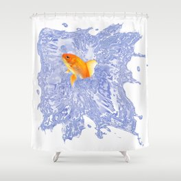 fulfillment of desires Shower Curtain