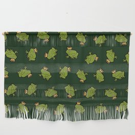 Frog Prince Pattern Wall Hanging