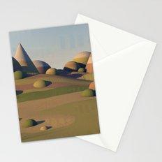 Geometric Landscape Stationery Cards