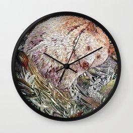 Great Bear Rainforest Wall Clock