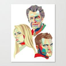 Walter, Peter, Olivia Canvas Print