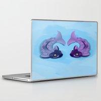 koi Laptop & iPad Skins featuring Koi by Nir P