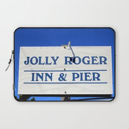 Visit And Stay On The Beach Laptop Sleeve