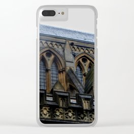 Truro Cathedral Architecture Clear iPhone Case