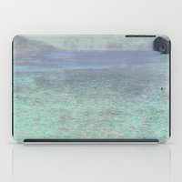 gustav klimt iPad Cases featuring Klimt at Attersee by anipani