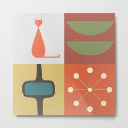 Panels - 1 Metal Print