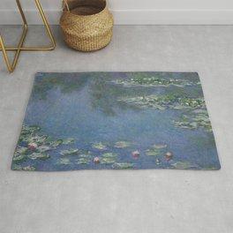 Claude Monet- Water Lilies  Rug