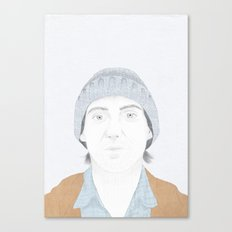 Hey There Bright Eyes Canvas Print