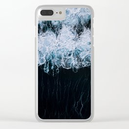 The Color of Water - Seascape Clear iPhone Case