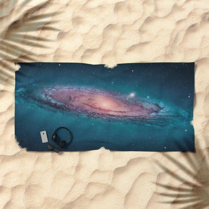 Nebula Beach Towel
