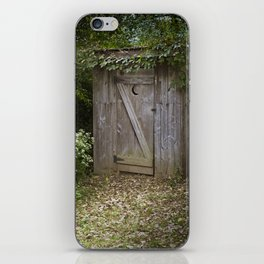 Outhouse iPhone Skin