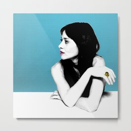 FIONA APPLE IDLER WHEEL Metal Print