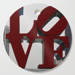 Love Philadelphia Sculpture Cutting Board