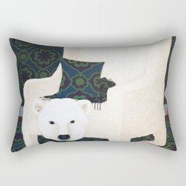 Polar Chair I Rectangular Pillow