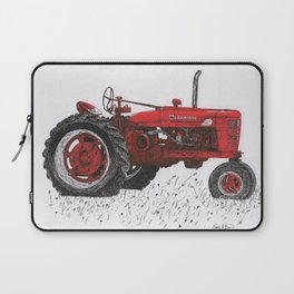 Farmall Super M, International Harvester Tractor Drawing Laptop Sleeve