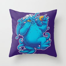 CTHOOKIE MONSTER Throw Pillow