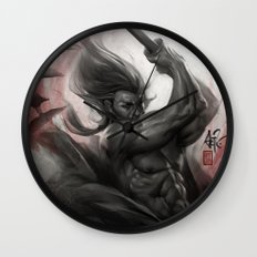 Samurai Spirit - Aura Wall Clock