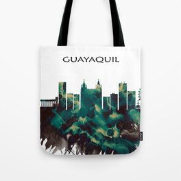 Guayaquil Skyline Tote Bag