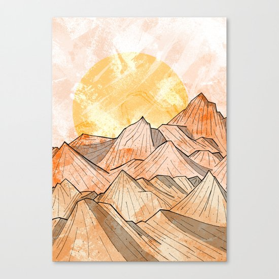 Sandy Shores Canvas Print