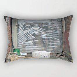 Alley Face Rectangular Pillow