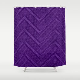Tipi's (Purple) Shower Curtain