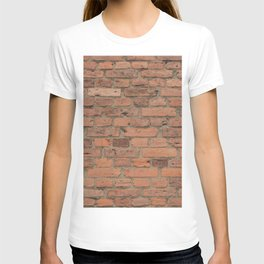 Stone Brick Wall T-shirt